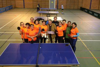 Remise de prix Association Sport pour Tous 16 René BONNET