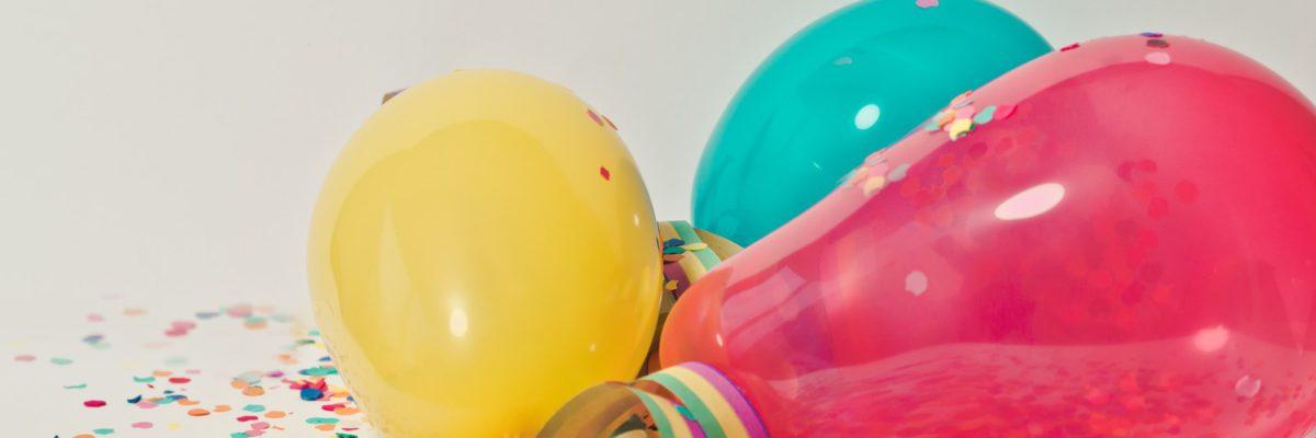 Ballons et confettis tombola Graine de Sport