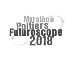 Logo MARATHON POITIERS FUTUROSCOPE 2018