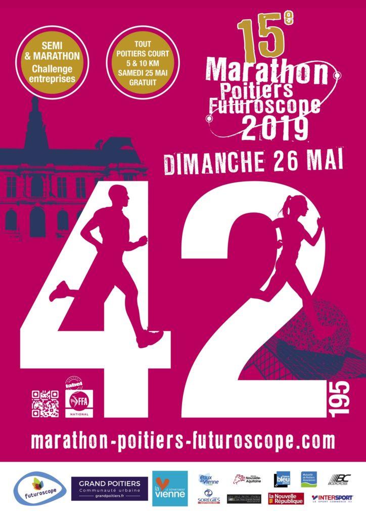 Marathon Poitiers Futuroscope