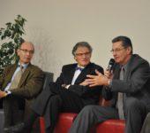 Alain FERRAND Gérard COASSIN et Daniel COSTANTINI conférence Sport et Entreprise 2011