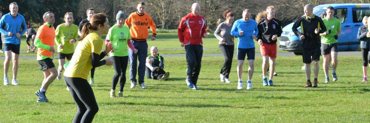 Echauffement collectif athlétisme