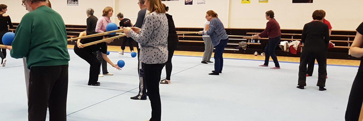 Gymnastique adaptée Entre Clain et Miosson