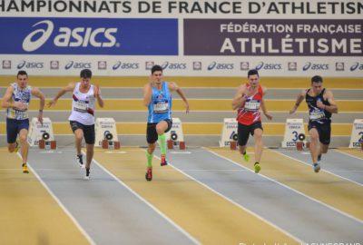 Maxime MAUGEIN départ 100m