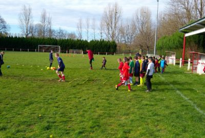 stage football vacances js corgnac